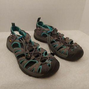 KEEN Sport Hiking Sandals Shoes Women's 9.5 Waterp